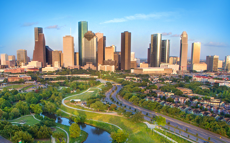 Houston Texas Autoverschfieung